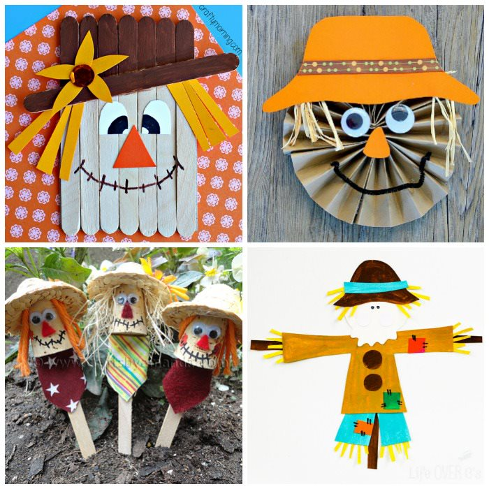 Scarecrow craft and activities for kids